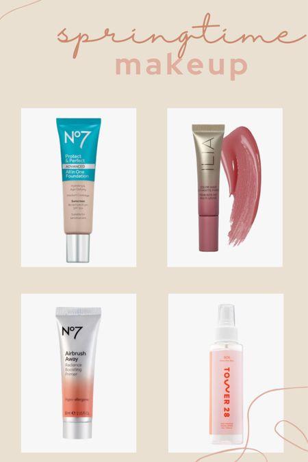 Shop my favorite springtime makeup products for the perfect glowy look! Dewy foundation, cream blushes and facial mists! All on sale! http://liketk.it/3d8fk #liketkit @liketoknow.it #LTKbeauty #LTKsalealert #LTKunder50 @liketoknow.it.family