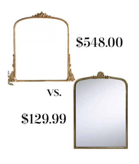 The look for less with Anthropologie's gleaming primrose mirror.   #LTKstyletip #LTKhome