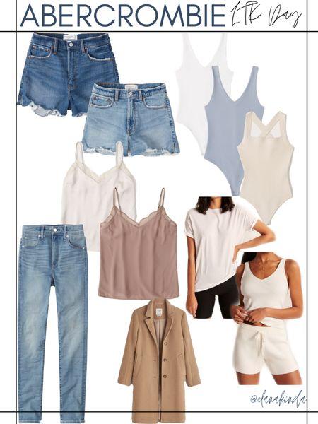 Like to know it day! Abercrombie is having 20% off everything! Basics, shorts, summer, dresses , white , loungewear, jeans, tops ,   #LTKsalealert #LTKDay #LTKunder50