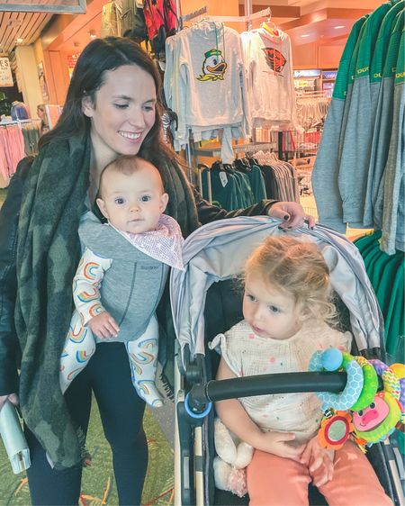 In honor of surviving taking these 2 to Palm Springs and Disneyland on my own I am sharing what made my trip to Europe with them a little easier.  Love these little world travelers 💗 . P.s. the jacket that Reagan is hiding is so great for travel because it's so versatile! .  Shop my daily looks by following me on the LIKEtoKNOW.it shopping app Shop my daily looks by following me on the LIKEtoKNOW.it shopping app http://liketk.it/2Kcuh   #liketkit #LTKfamily @liketoknow.it @liketoknow.it.family #LTKtravel #LTKunder100