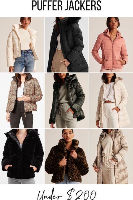 Winter puffer jackets/coats for under $200!   #LTKsalealert #LTKgiftspo #LTKstyletip