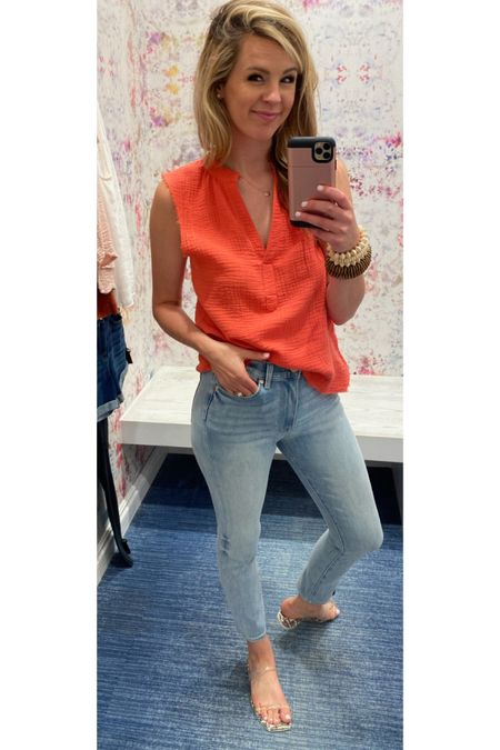 Love this light and breezy top for summer and these shoes are so perfect and literally go with everything! http://liketk.it/3hTPi #liketkit @liketoknow.it #LTKshoecrush #LTKworkwear #LTKstyletip #evereve #evereveambassador #coral