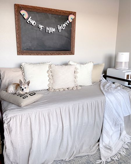 Happy Saturday! This daybed and bedding is perfect for a kids room! This is my grandsons room and it's beautiful and functional! 💋 #LTKkids #LTKsalealert #StayHomeWithLTK #liketkit @liketoknow.it http://liketk.it/37c6k @liketoknow.it.home