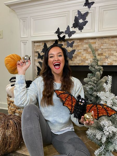 Halloween decorations 🧡 + the stretchiest Moto leggings 20% off with code HEATHER20. Sharing all my favorite decorations for you to shop!   #LTKHoliday #LTKhome #LTKunder100