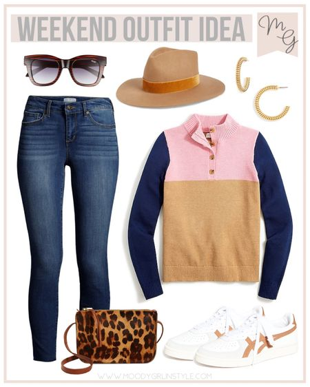 Weekend Outfit Idea | Fall Looks  A few of these pieces are currently on sale! #jcrewfactory #fall #fallclothes #walmartfashion #walmart #fallcoat #fallinspiration #fallfashion #fallstyle, fall fashion, workwear, jcrew style #LTKSale #LTKitbag #LTKunder100 #LTKunder50 #LTKworkwear