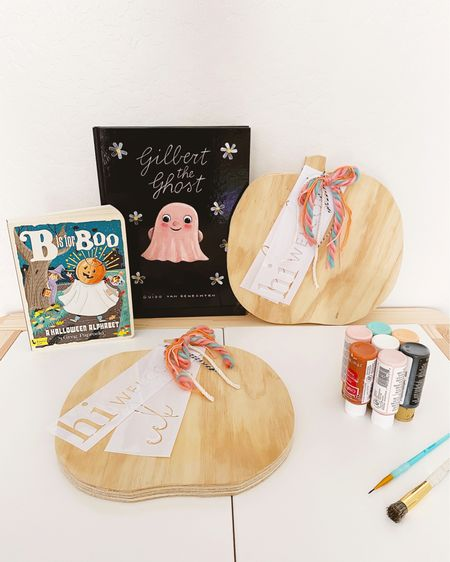 Grab your Ghouls + get crafty with the Pumpkin DIY Craft + Chill Kit plus virtual craft class! I am so excited to see your creativity shine when you create your own pumpkin using the dotted bow wood pumpkin blank and 4 reusable stencils. Available for purchase until 9/30. All kits ship 10/5! There will be a kid and adult virtual class on October 17.  More info available in the Etsy shop and all product links can be found on my @liketoknow.it http://liketk.it/2Wqs6   #liketkit