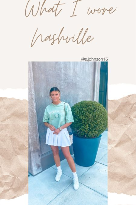 Look for lunch in Nashville at Restoration Hardware  Size small in skirt Size small in top- linked similar Shoes are TTS  http://liketk.it/3hSnR #liketkit @liketoknow.it #LTKsalealert #LTKstyletip #LTKunder50