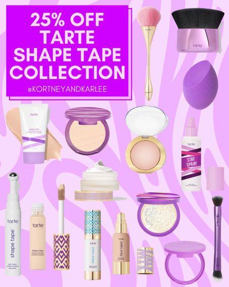 Tarte Sale!!! Get 25% off + FREE shipping with code: TARTELTK25  Tarte makeup | tarte makeup favorites | tarte favorites | tarte sale | Tarte cosmetics | Tarte palette | tarte foundation | Tarte shape tape | Tarte makeup sale | Tarte shape tape sale | Tarte mascara sale | LTK Early Gifting Sale | LTK Fall Sale | LTK Winter Sale | Kortney and Karlee | #kortneyandkarlee #LTKunder50 #LTKunder100 #LTKsalealert #LTKstyletip #LTKshoecrush #LTKSeasonal #LTKtravel #LTKswim #LTKbeauty #LTKhome #LTKGifts #LTKHoliday #LTKSale @liketoknow.it #liketkit