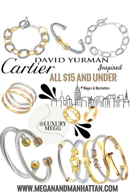 My favorite sale is on again! The signature bracelet stack is always elevated with these David Yurman inspired cable bracelets   #LTKsalealert #LTKeurope #LTKunder50
