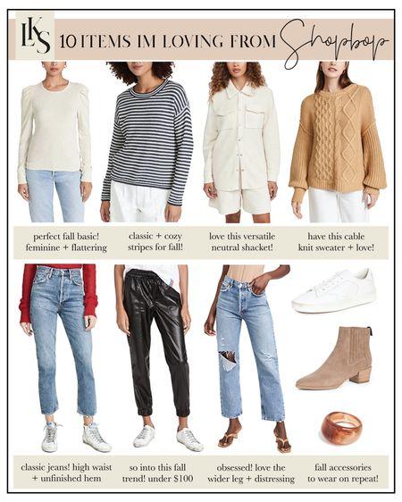 Sharing 10 random items I'm loving from shopbop today on laurenkaysims.com ✨ #fallfashion #shopbop   #LTKSeasonal