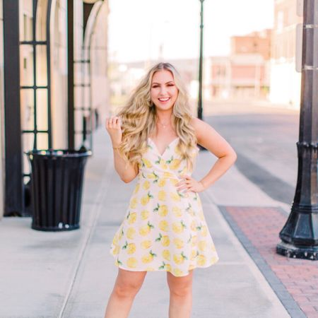 Can't wait for warmer weather so I can break out sundresses like this 🍋 number. 😍 #SummerWhereYouAt ☀️ @liketoknow.it #liketkit #LTKunder50 http://liketk.it/2CaDV