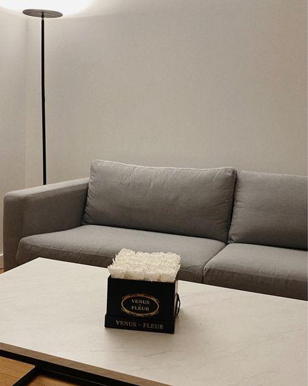 — LIVING ROOM Couch — Ikea Coffee table — Target Floor lamp — Amazon Flowers — Venus Et Fleur  http://liketk.it/36PUP #liketkit @liketoknow.it