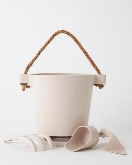 Beach bucket set for the kiddos 🤍 #liketkit http://liketk.it/3bVMk @liketoknow.it #LTKfamily #LTKswim #LTKkids