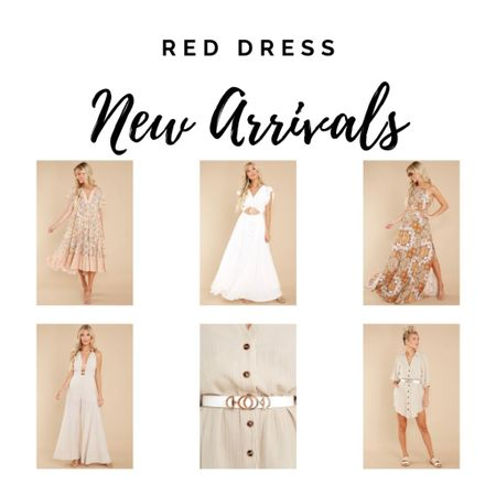 Red Dress Favorites, summer style, dresses http://liketk.it/3jUD0 #liketkit @liketoknow.it #LTKunder100 #LTKtravel #LTKwedding