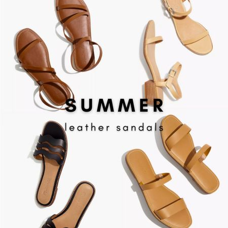 Update your shoe collected with some new leather sandals! Madewell sandals are super comfy and true to size.   Grab a pair or two at  Madewell today and take $25 off orders of $125 with code LTKDAY  #LTKshoecrush #LTKunder100 #LTKDay