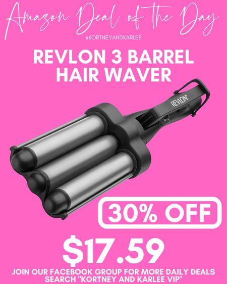 Amazon Deals of the Day!! 40%+ off hair appliances from Amazon!!!  Hair tools sale | Amazon hair appliances sale | T3 sale | hair wand sale | blowdryer sale | Revlon hair dryer sale | Amazon daily deal | amazon deal | amazon beauty | amazon finds | amazon favorites | amazon lightening deal | Kortney and Karlee | #kortneyandkarlee #LTKGifts @liketoknow.it #liketkit  #LTKunder50 #LTKunder100 #LTKsalealert #LTKstyletip #LTKSeasonal #LTKhome #LTKGiftGuide #LTKHoliday