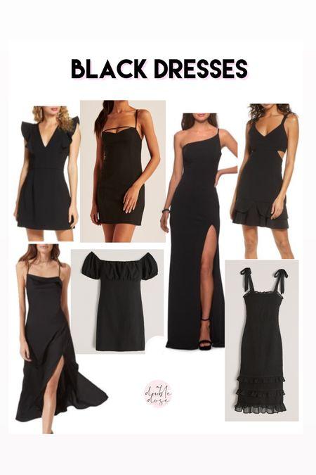 Little black dresses black dresses for wedding guest dress   #LTKunder100 #LTKunder50 #LTKwedding