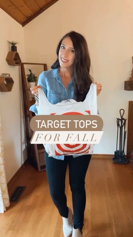 Oh My Gourd...FALL is officially here!! 🍁 🍁🍁 Sharing some perfect fall tops from everyone's FAV... @target!  And hurry, 20% off women's tops and denim this week.   #ltkunder100 #ltkunder50 #ltkstyletip #fallfashion #fallfashion2021 #fallfashiontrends #sweatervest #affordablefashion #affordableclothing #affordableclothes #casualstyle #casualfashion #microinfluencer #discoverunder30k #targetfashion #targetfinds #everydaystyle #mamastyle #momstyle #everydaystyle #falliscoming #sweaterweather #fashionreels #fashionreel #stylereels #stylereels   Music: Last Summer Musician: @iksonmusic