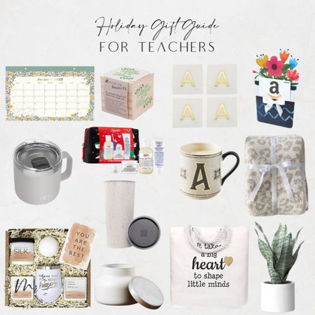 Holiday gift guide for teachers holiday gifts for teachers http://liketk.it/3qbBQ @liketoknow.it #liketkit   #LTKunder100 #LTKGiftGuide #LTKunder50