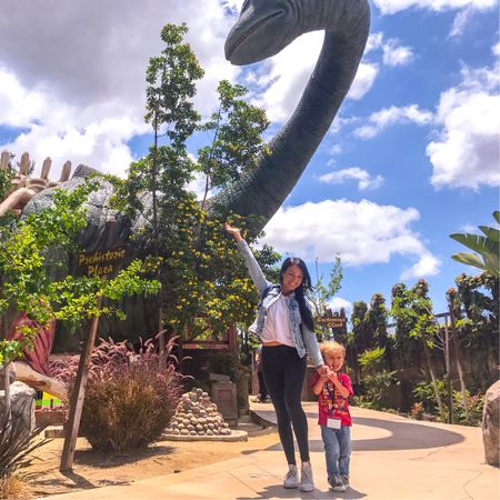 Today was RAWR-some! See what I did there? 🤣 We spent our Saturday at the new dinosaur exhibit at the #DiscoveryCubeOC. On a side note, I am shrinking...not really but Cash is growing like a weed lately making me look like I'm barely 4' tall 🌱!     http://liketk.it/2vUq0 #liketkit @liketoknow.it   #LTKstyletip   #LTKwedding  #LTKbeauty #LTKfit #LTKfamily #LTKkids