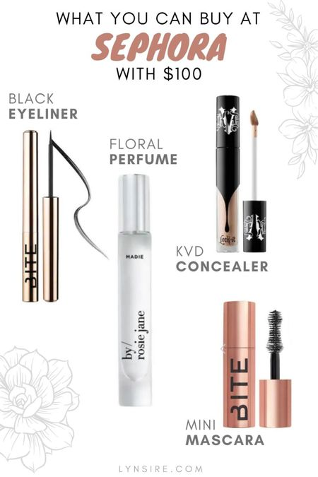 Four items you can buy at Sephora with $100! Cruelty free brands and vegan beauty products.   #LTKbeauty #LTKunder100 #LTKworkwear