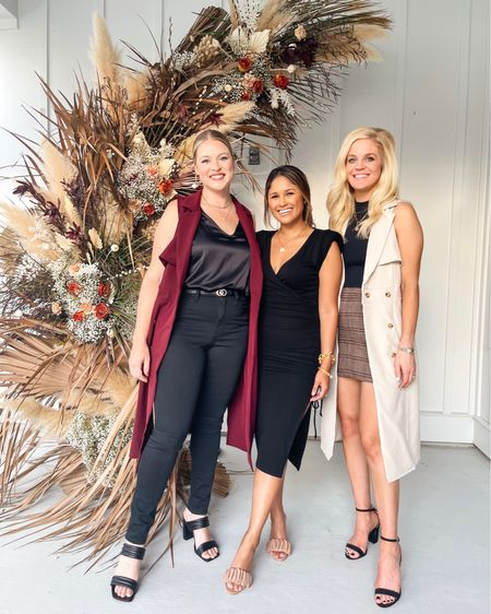 Ready to drop it like it's HAUTE!🥂🍾 We had a blast celebrating my birthday🎂 with all of our friends last night and all of my best girls wore pieces from my Fall Collection🍂 that I designed with @gibsonlook. Oh and we may or may not have filmed a little fashion show for you all to see how they styled them for my birthday dinner! So stay tuned!😉 You can actually check out a little behind the scenes of that on my IG stories! A huge thank you to my friends for making my fashion week dreams come true in my own house!🤣 Which piece is your favorite from my collection? …. take 15% OFF our looks at @gibsonlook with code: HAUTE15 … Florals by @moonbeamflorals Balloons by @thegracefullhost … #birthdaydress #birthdaygirl #chocolatecake #gibsonlookxhauteofftherack #falloutfit #fallstyle   #LTKstyletip #LTKshoecrush #LTKsalealert