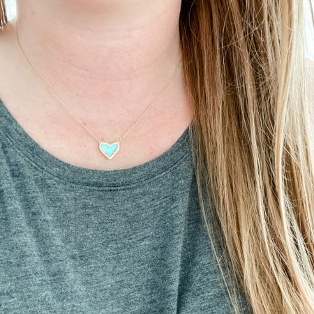 This Kendra Scott heart necklace is so pretty and would make the perfect Mother's Day gift. I own the full set with necklace, earrings and bracelet! http://liketk.it/3eaCW #liketkit @liketoknow.it #LTKsalealert #LTKstyletip #LTKunder50
