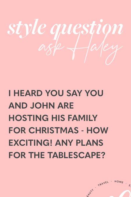 Christmas tablescape 🎄🎄 http://liketk.it/33D5S #liketkit @liketoknow.it #LTKhome #StayHomeWithLTK #LTKunder100