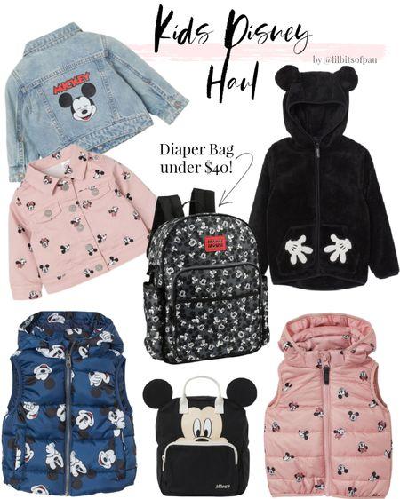 mickey jean jacket, disney kids outfits, what to wear to Disneyland, Disneyworld  #LTKbaby #LTKkids #LTKfamily