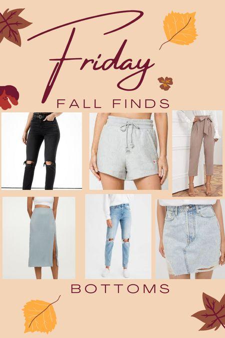 Fall Fashion Finds!! Bottoms for Fall! #fallfashion #bottomsforfall    #LTKSeasonal