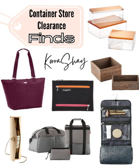 Container store clearance finds!   Helpful tools for organizing your house and your life. And as a huge bonus they are all on sale too!   From wood containers, to wine bottle gifts, to travel organizing tools. Everything you would want for being more organized!   🏡🏡🏡🏡🏡  Container store, container store finds, house organizing, home organizing, wood container, wine, wine gift, makeup travel organizer, travel tools, travel bags, organized travel   #LTKunder50 #LTKunder100 #LTKsalealert
