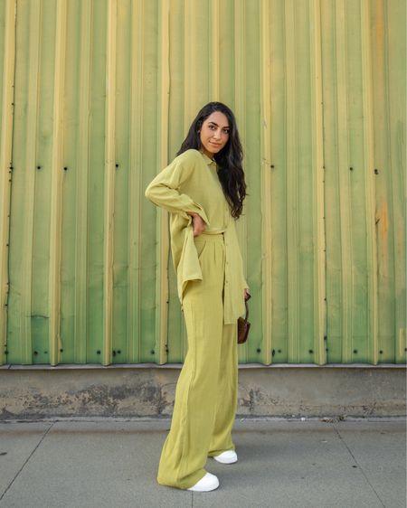 Two piece trouser sets are my go to 🍋✨ http://liketk.it/3gztr #liketkit @liketoknow.it #LTKstyletip #LTKunder50 #LTKworkwear