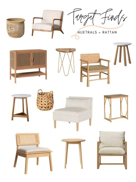 Target home decor & furniture finds! Loving these neutral & rattan home decor pieces. I will take one of each! Shop any of the items: http://liketk.it/3aZ5j #liketkit @liketoknow.it @liketoknow.it.home #LTKhome #StayHomeWithLTK #LTKstyletip