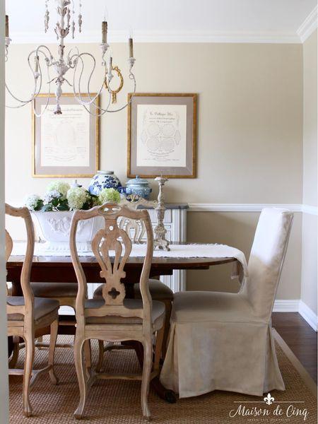 Blue and white summer decor ideas! #liketkit @liketoknow.it  http://liketk.it/3gCYN @liketoknow.it.home #LTKhome blueandwhite summerdecor summerdecorating diningroom farmhousetable
