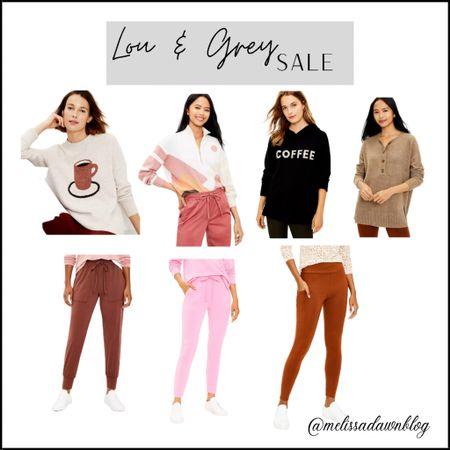 Lou and grey 50% off, Loft finds #joggers #sweatshirts   #LTKsalealert #LTKstyletip #LTKunder50