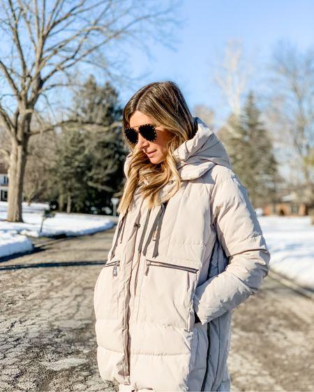 Everyone's favorite down winter coat from Amazon is 15% off today! This jacket is so warm! Wearing size xs.   #LTKstyletip #LTKSeasonal #LTKsalealert