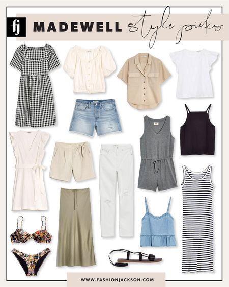 Save on #summerfashion from Madewell during the LTK Day sale! #whitedress #summerdress #bikini #swim #gingham #denimshorts #summertops #salealert #fashionjackson http://liketk.it/3hjgP #liketkit @liketoknow.it #LTKDay #LTKsalealert #LTKunder100