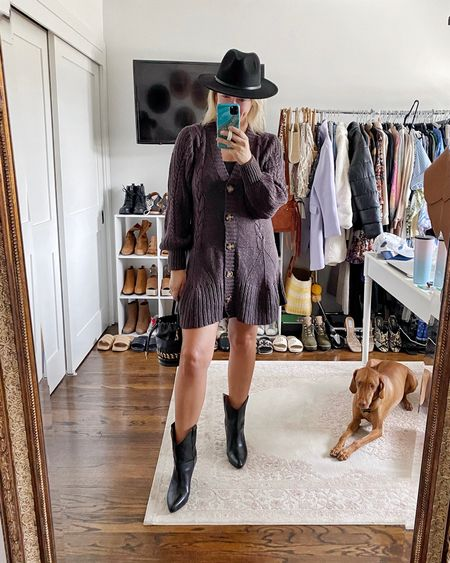 The CUTEST fall sweater dress that's currently included in the big Shopbop sale    #LTKitbag #LTKsalealert #LTKshoecrush