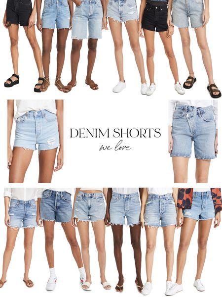 Denim shorts we love! http://liketk.it/3hMdl @liketoknow.it #liketkit #LTKstyletip