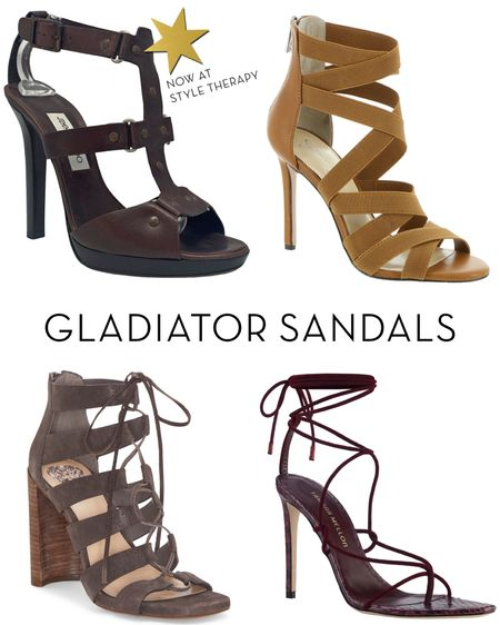 🤎🤎🤎 Always on-trend: gladiator sandals http://liketk.it/2TJk2 #liketkit @liketoknow.it #StayHomeWithLTK #LTKshoecrush #LTKspring #LTKstyletip   You can instantly shop my looks by following me on the LIKEtoKNOW.it app shoes, heels, summer