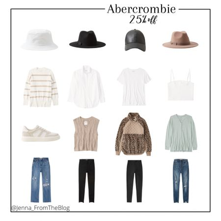 25% off at Abercrombie today through Tuesday!   #outfitinspo #abercrombie #fallootd #ootd #casualoutfits #fall2021 #ltkday #fallhats #fallsweaters #sweaters #abercrombiejeans #ltkshoecrush  #LTKstyletip #LTKsalealert #LTKSale