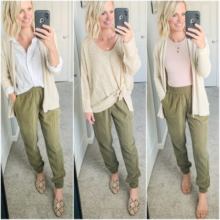 The perfect work from home pant! Old Navy joggers.   #LTKunder50 #LTKworkwear #LTKstyletip