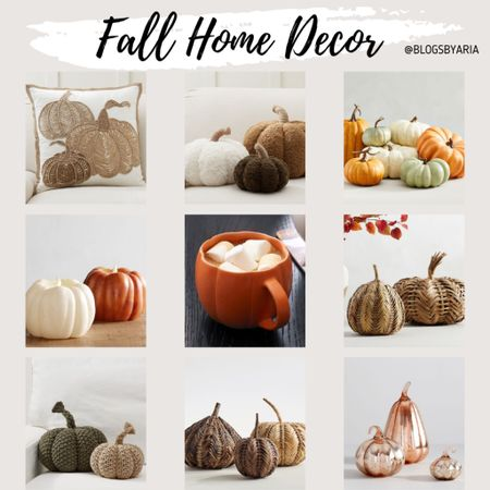 Fall home decor finds. Some items are going fast! Fall pillows fall decor pumpkins fall candles   #LTKhome #LTKSeasonal