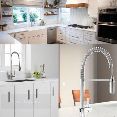 Memorial Day Clearance is on. Shop our handpicked highly-rated semi-pro kitchen faucets.   #LTKsalealert #LTKhome