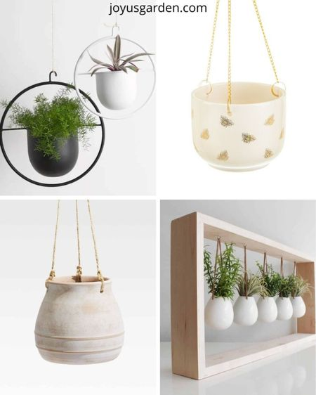 I absolutely love how hanging pots look in my home. Sometimes you run out of space on all your flat surfaces to display your houseplants, and these can solve that problem.   #LTKstyletip #LTKhome
