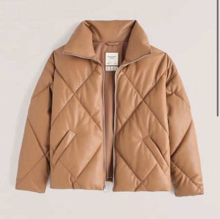 """Ahhhh how stunning is this buttery soft vegan puffer jacket?!?! So so so perfect for fall and winter and it's on sale right now!!!! 25% off so it will be around $150!!! Such a great deal! But it won't last long so grab it quick if you like it! Just make sure to use code """"LTKAF2021"""" for the 25% off! And it also comes in a gorgeous brown + a black too!   #LTKHoliday #LTKstyletip #LTKSale"""