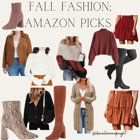 Fall is coming and Amazon has some great picks for some fall fashion looks!   #LTKunder100 #LTKstyletip #LTKshoecrush