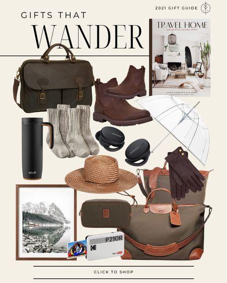 Gifts for traveling, inspiring, and exploring 🧳  boots, travel bags, umbrella, tote, computer bag, mini printer for photos.   #LTKunder100 #LTKGiftGuide #LTKtravel