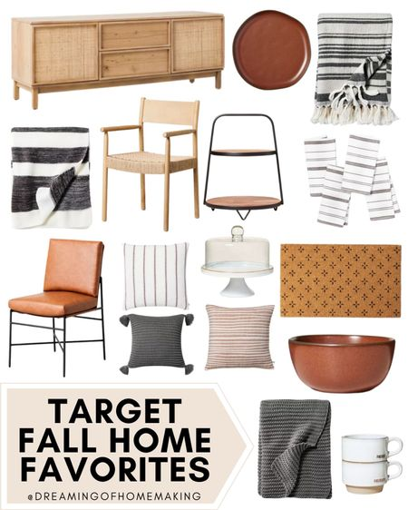 Target fall home favorites!!🍁🍂☕️   Dreaming of Homemaking | #DreamingofHomemaking  #LTKunder50 #LTKunder100 #LTKhome