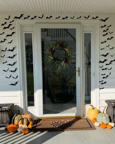 Amazon Halloween decor ✨ Halloween decorations ✨ bats ✨ fall decor ✨ wreaths ✨ front porch decor ✨ holiday decor ✨ amazon home Shop my daily looks by following me on the LIKEtoKNOW.it shopping app http://liketk.it/2XXaO #liketkit @liketoknow.it #StayHomeWithLTK #LTKhome #LTKfamily